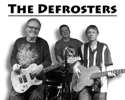 The Defrosters B&W Poster