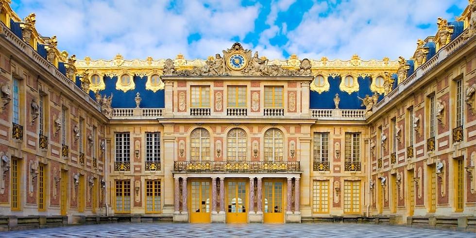 """Visite conférence """"Les Grands Appartements de Versailles"""""""