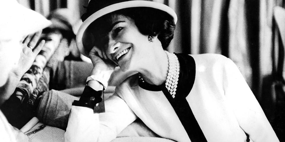 """Visioconférence """"Gabrielle Chanel, manifeste de Mode"""", l'exposition du Palais Galliera."""