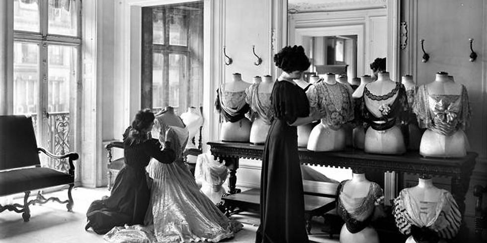 visite conférence Origine de l'histoire de la haute couture