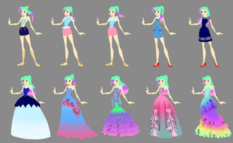 Sirenetta Character Design Concepts