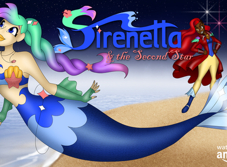 """""""Sirenetta & the Second Star"""" now Streaming on Amazon Video"""