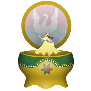 Anastasia Music Box