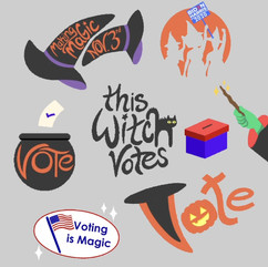 Witches Vote Gifs