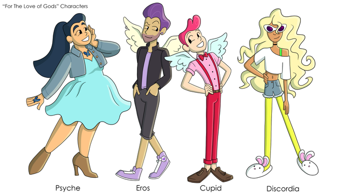 """""""For the Love of Gods"""" Character Concepts"""