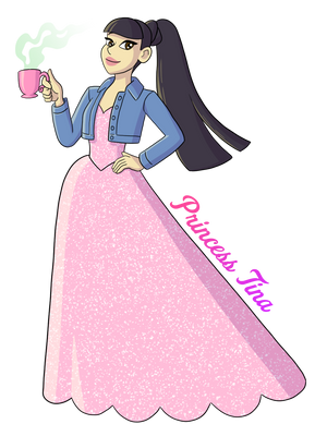 """""""Royal Tea"""" Princess Tina Design"""