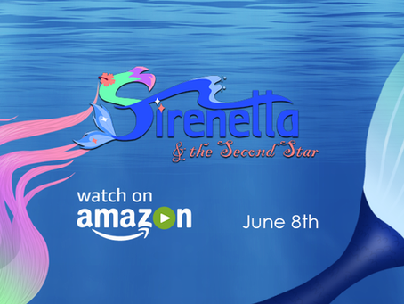 "It's Of-Fish-ial! ""Sirenetta"" comes to Amazon this June"