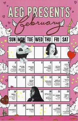[Upcoming Shows] AEG Presents (February)