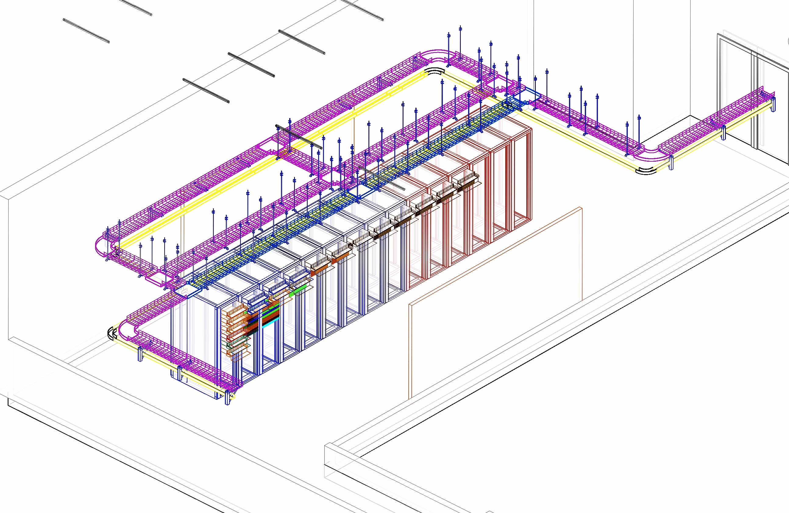 3d rederings of custom data centers