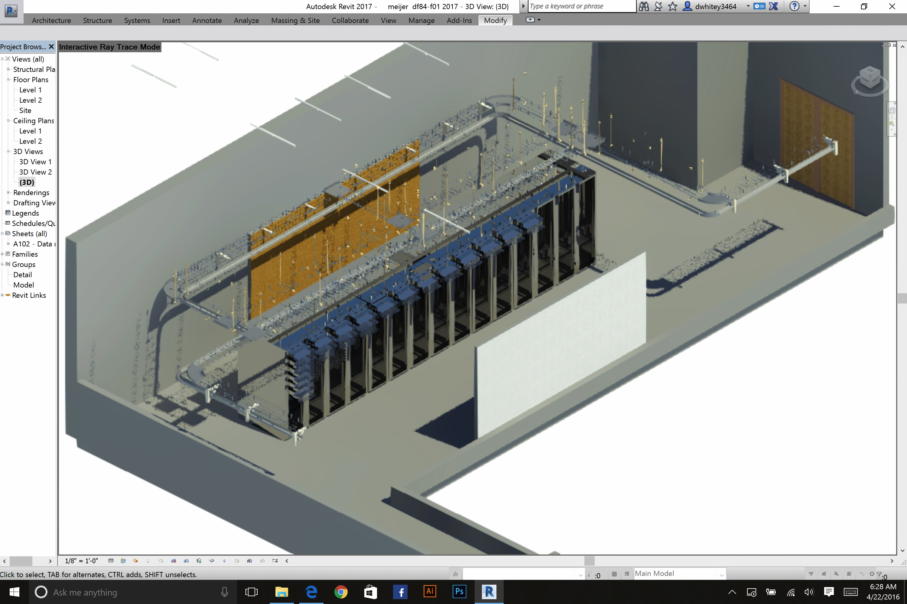 In house CAD and Revit software Team used to design data centers