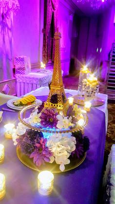 Paris in Purple Wedding