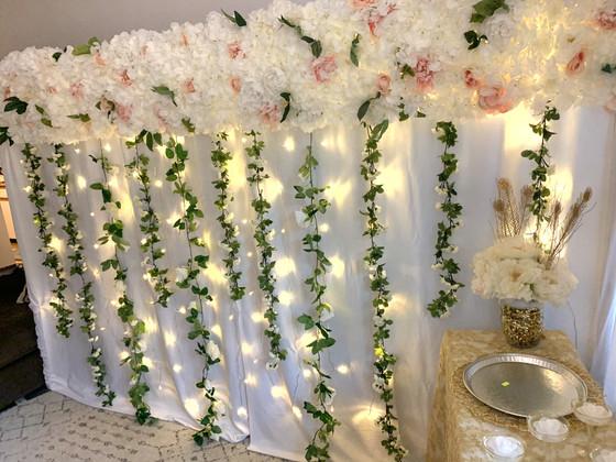 Zoom Wedding Backdrop