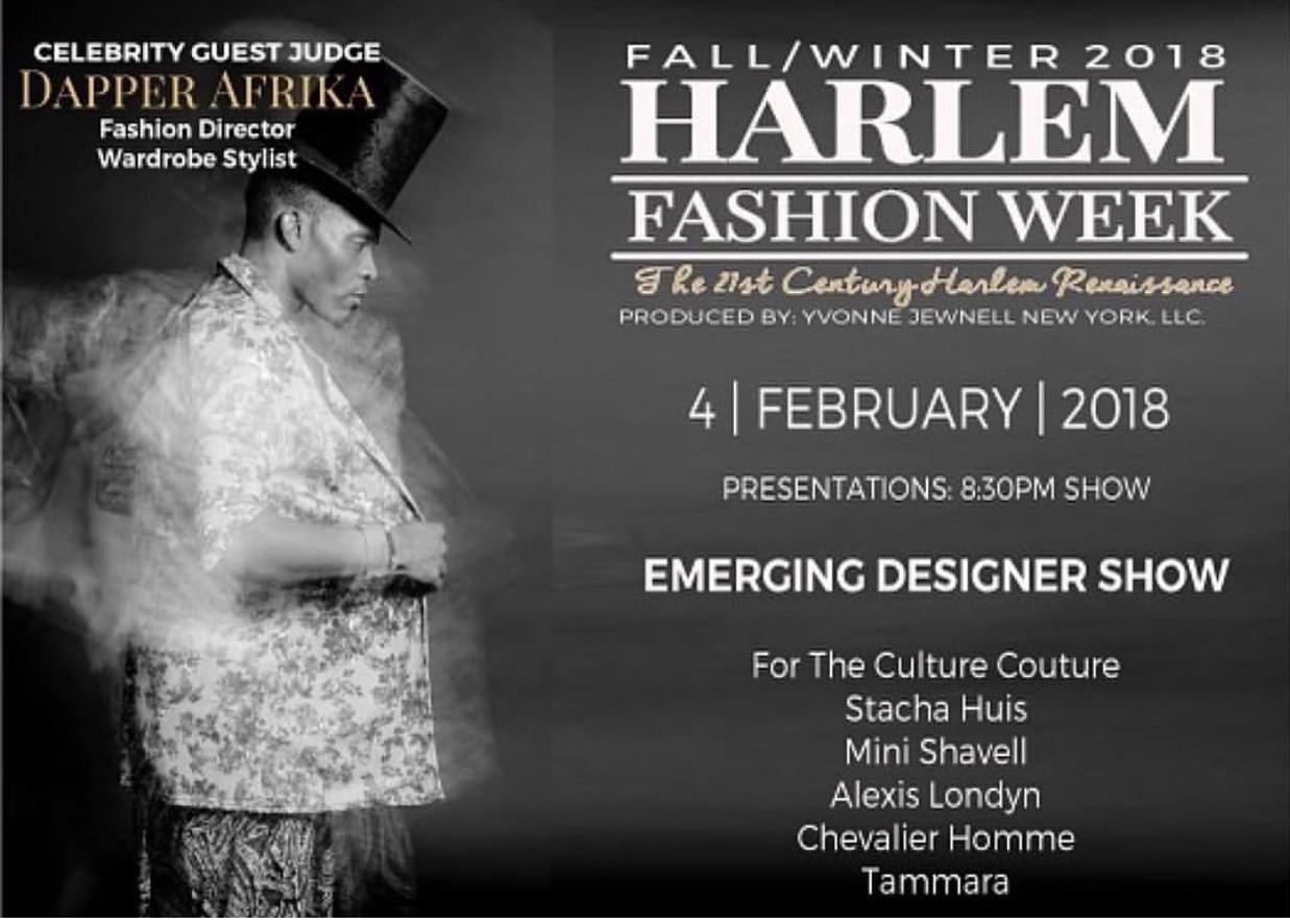 Harlem Fashion Week 2018