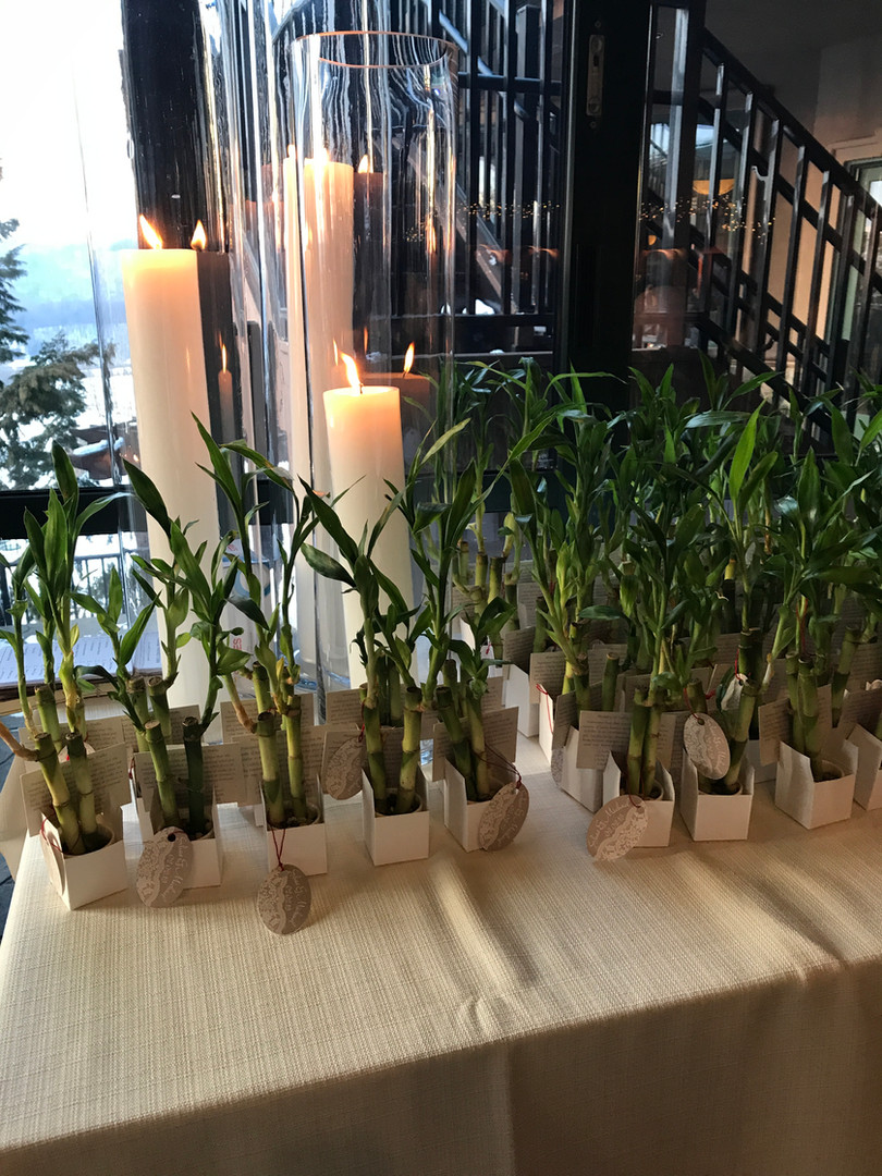 Bamboo Party Favors