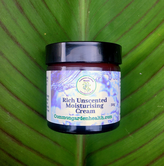 Rich Unscented moisturising Cream:
