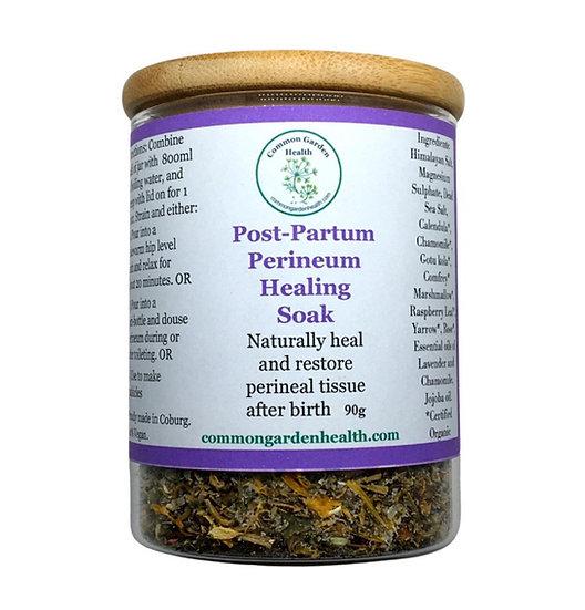 Post-partum Perineum Healing Soak: