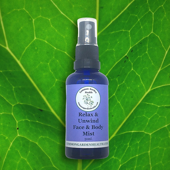 Face & Body Mist - Relax and Unwind