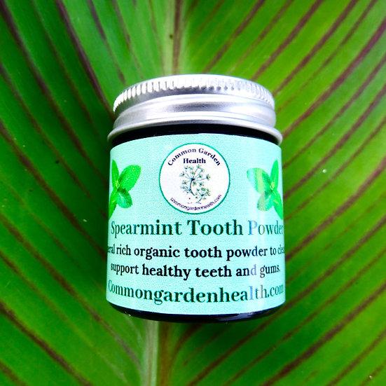 Spearmint Tooth Powder: