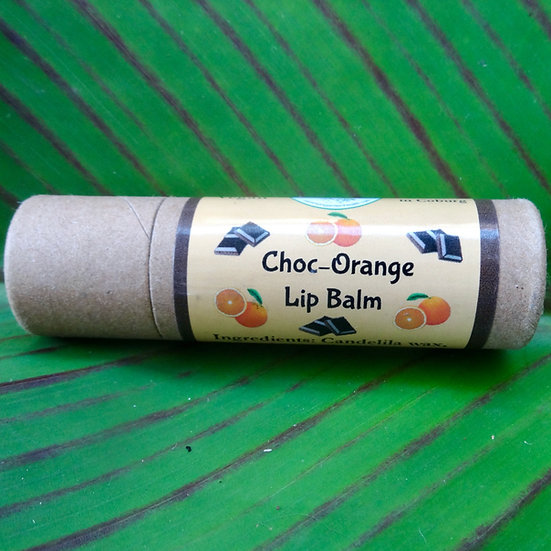 Choc -Orange Lip Balm