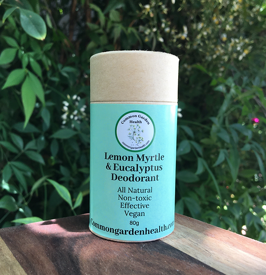 Deodorant - Lemon Myrtle & Eucalyptus Deodorant