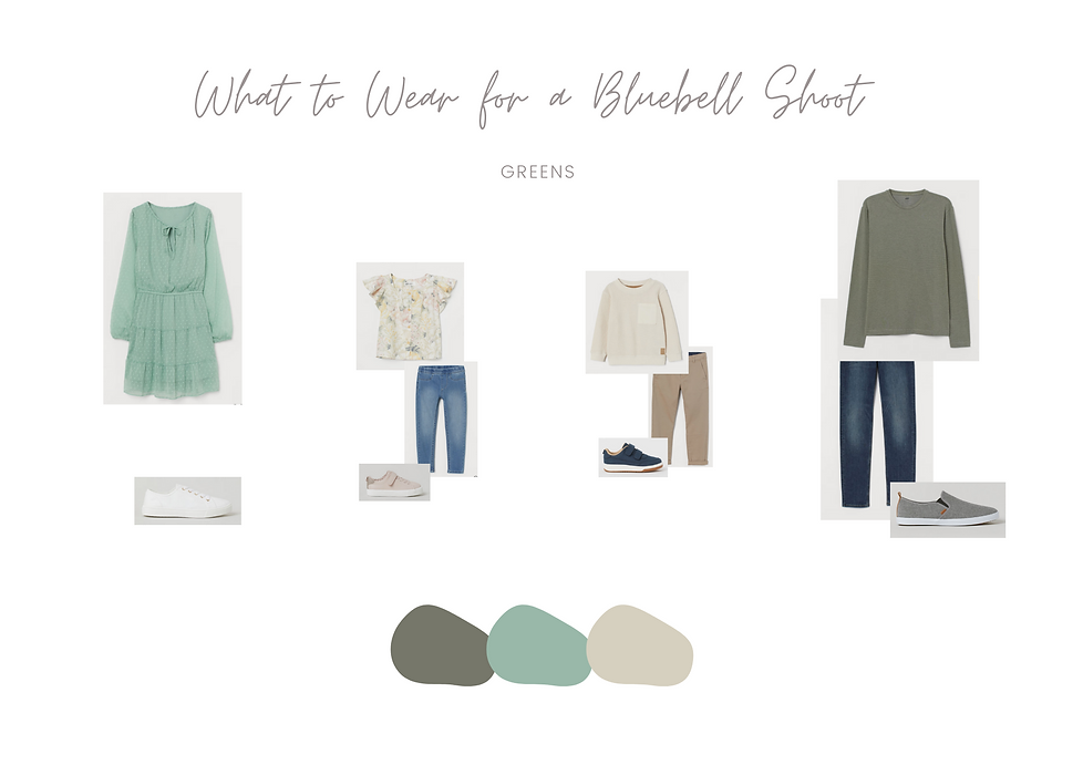 What to Wear - Bluebell Mini Session 3