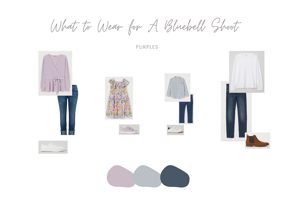 What to Wear - Bluebell Mini Session 5