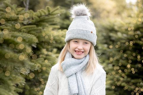 christmas tree farm photoshoots