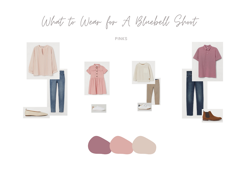 What to Wear - Bluebell Mini Session 4