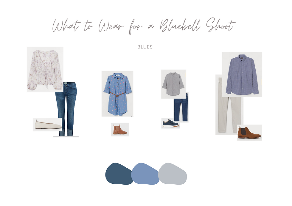 What to Wear - Bluebell Mini Session 2