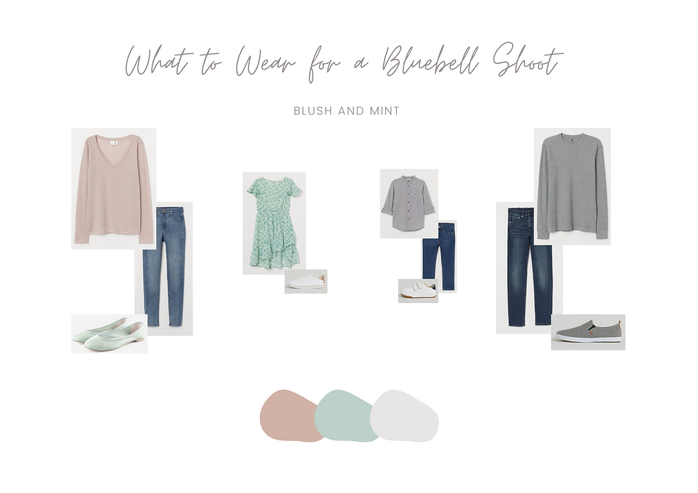 What to Wear - Bluebell Mini Session 1