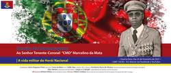 Sessão de Homenagem ao Senhor Tenente-Coronel Comando Marcelino da Mata