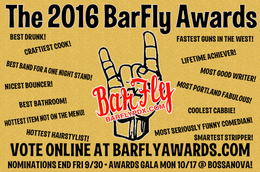 BarFly service industry awards voting!
