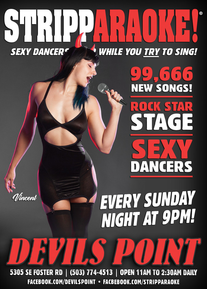 DEVILS POINT DANCER SCHEDULE • TUE, FEB 13TH - MON, FEB 19TH • 2018