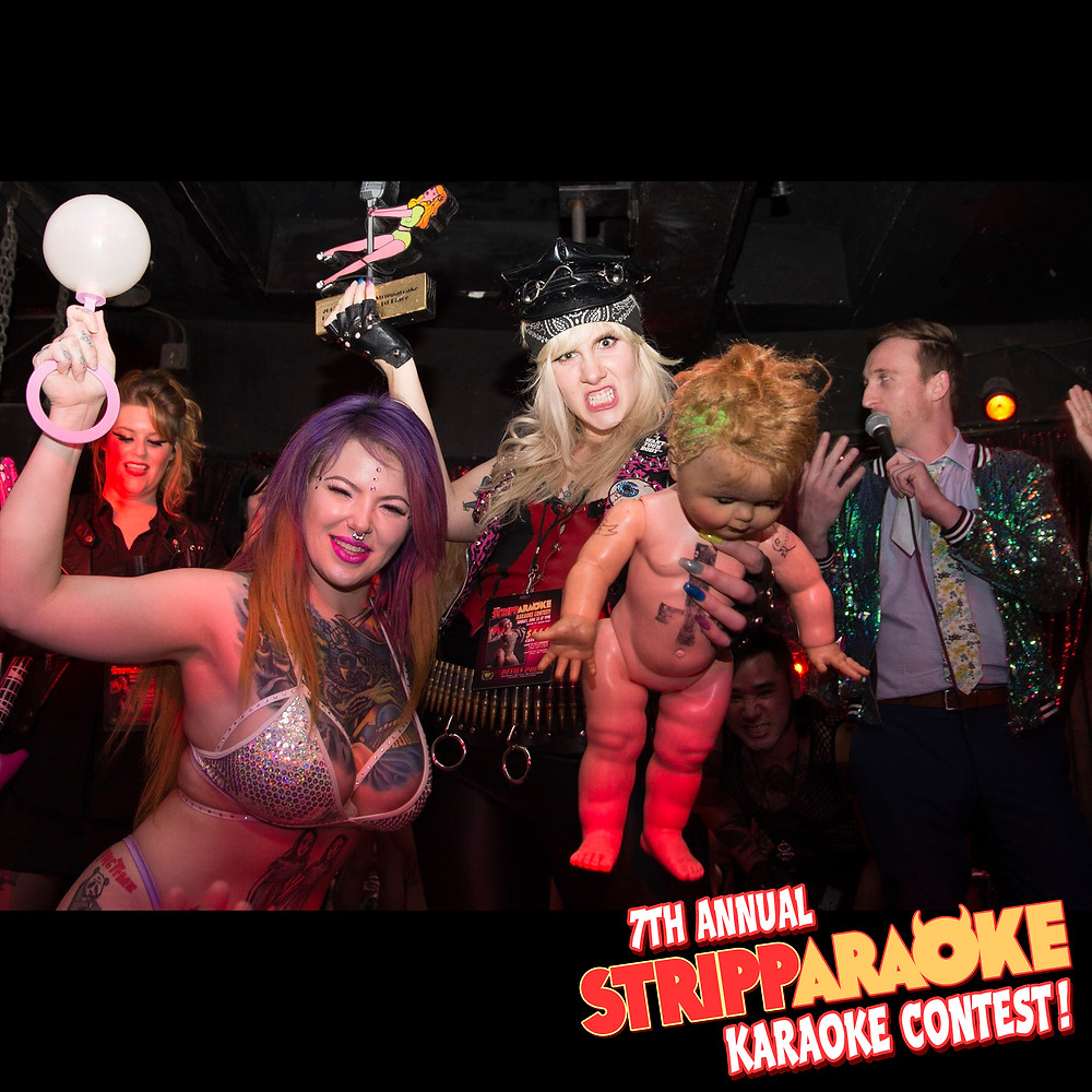 Congrats to Harlow, our first place Stripparaoke Karaoke Contest winner!