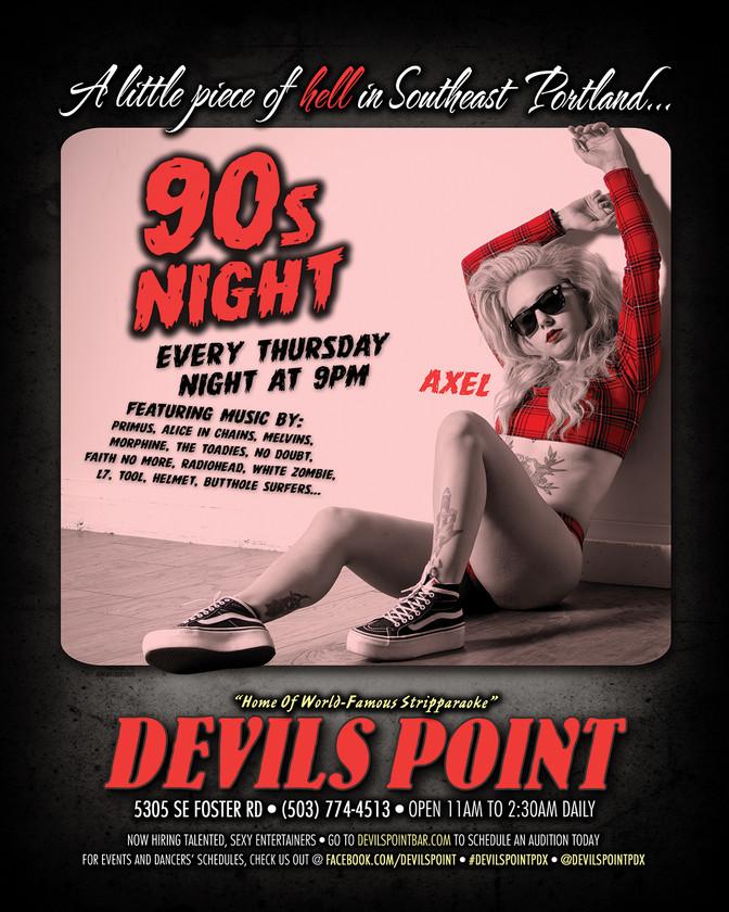 DEVILS POINT DANCER SCHEDULE • TUE, OCT 31 - MON, NOV 6 • 2017