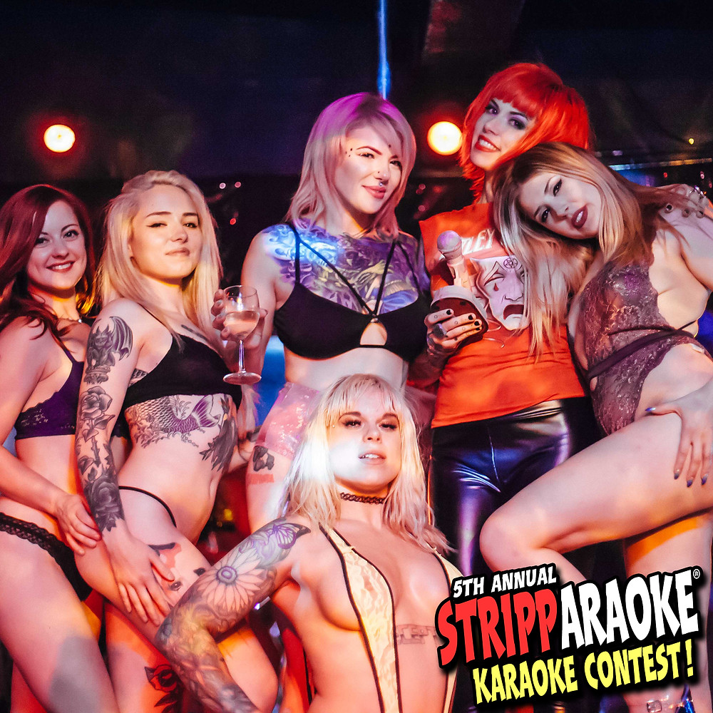 Congratulations to ROCKET, our first place 5TH ANNUAL STRIPPARAOKE KARAOKE CONTEST grand prize winner ($666)!