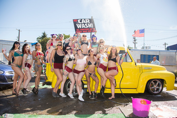 2016 BIKINI CAR AND DOG WASH PICS