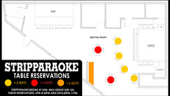 STRIPPARAOKE TABLE RESERVATIONS