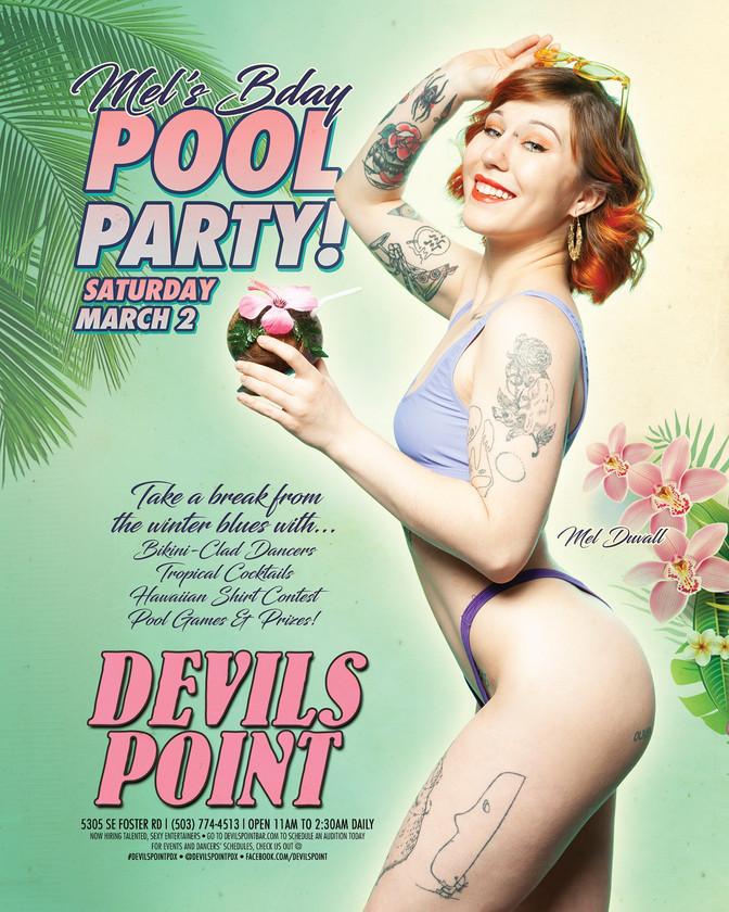 DEVILS POINT DANCER SCHEDULE • TUE, FEB 26TH - MON, MAR 4TH • 2019