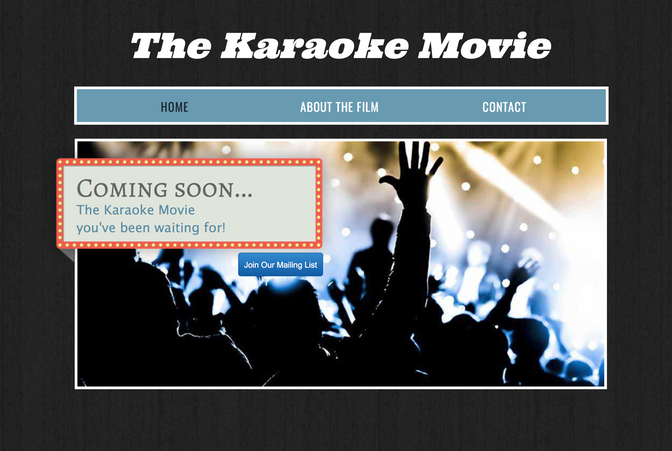 "FILMING ""THE KARAOKE MOVIE"" THIS SUNDAY DURING STRIPPARAOKE"