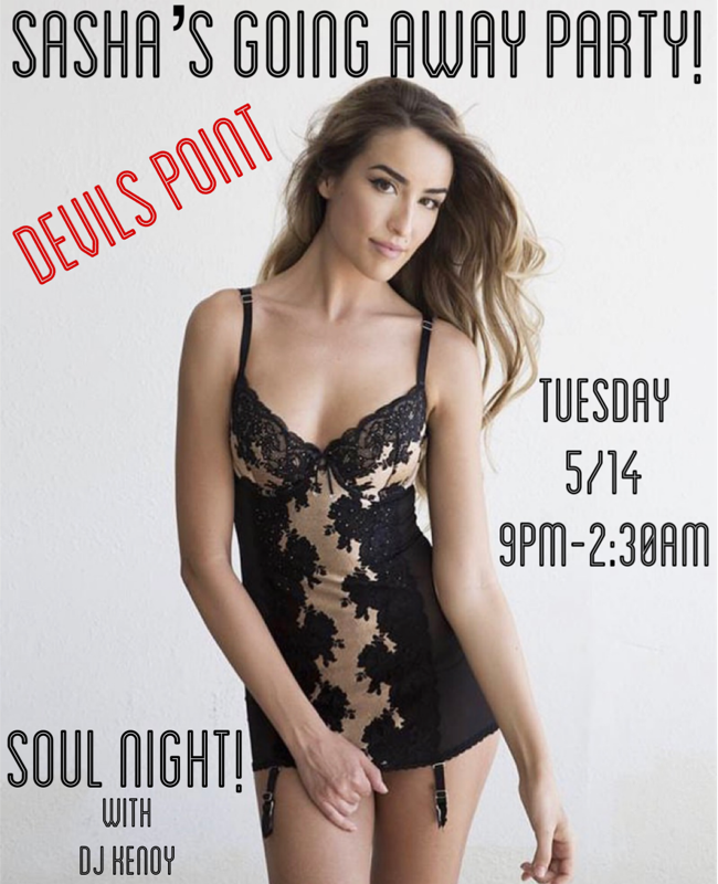 DEVILS POINT DANCER SCHEDULE • TUE, MAY 14TH - MON, MAY 20TH • 2019
