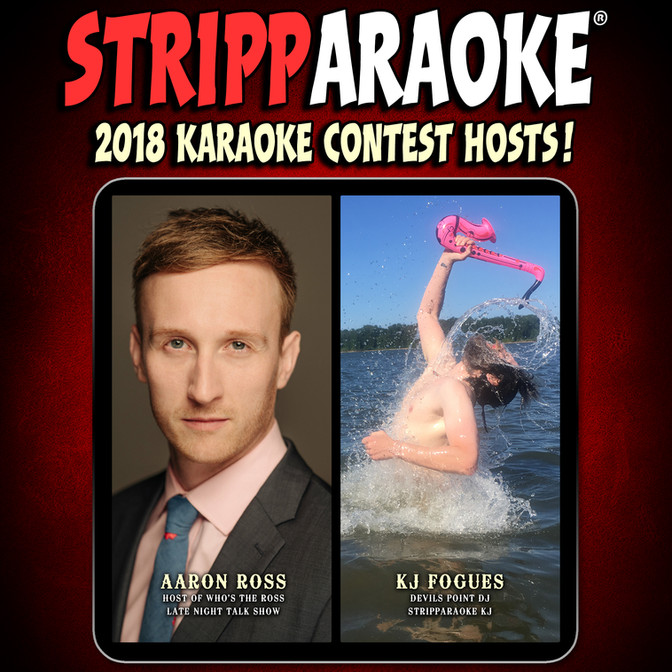 YOUR 2018 STRIPPAROKE KARAOKE CONTESTANTS ARE...