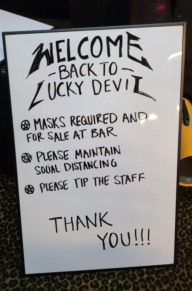 LUCKY DEVIL DANCER SCHEDULE • FRI, FEB 12 - MON, FEB 15