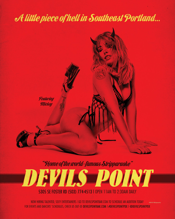 DEVILS POINT DANCER SCHEDULE • TUE, MAR 3RD - MON, MAR 9TH • 2020