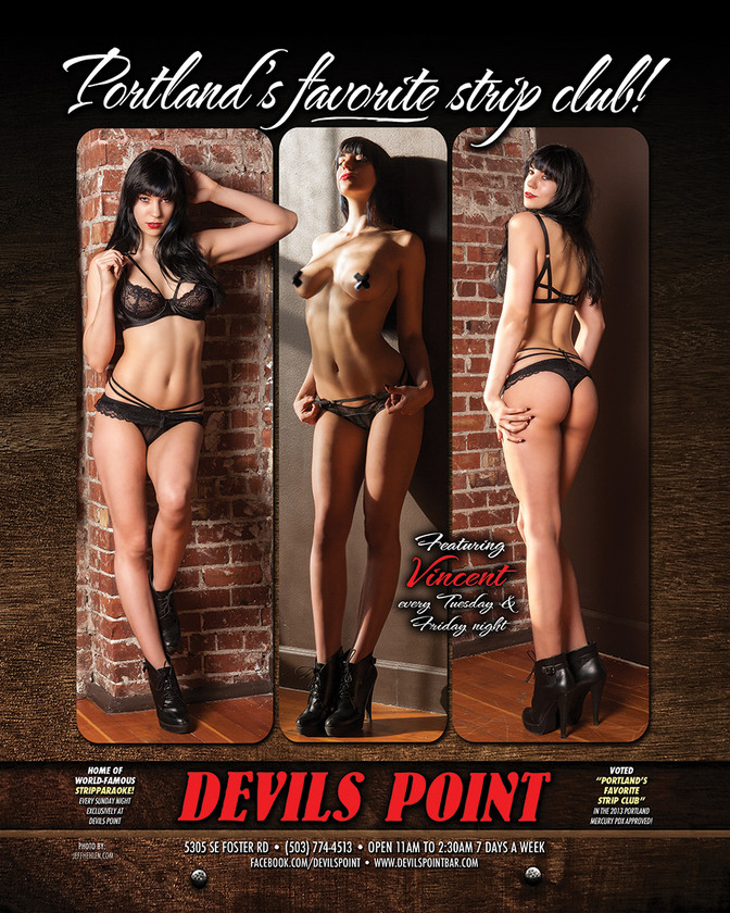 DEVILS POINT DANCER SCHEDULE • TUE, MAY 24TH - MON, MAY 30TH • 2016