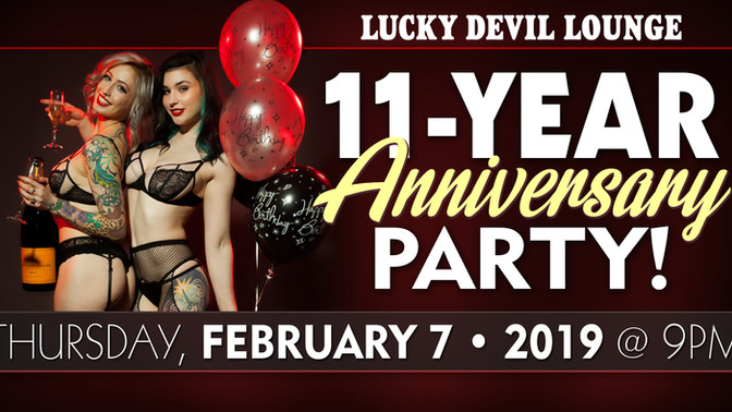 11-YEAR ANNIVERARY PARTY!