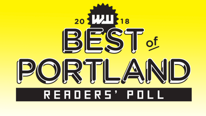 NOMINATE US FOR BEST OF PORTLAND 2018!