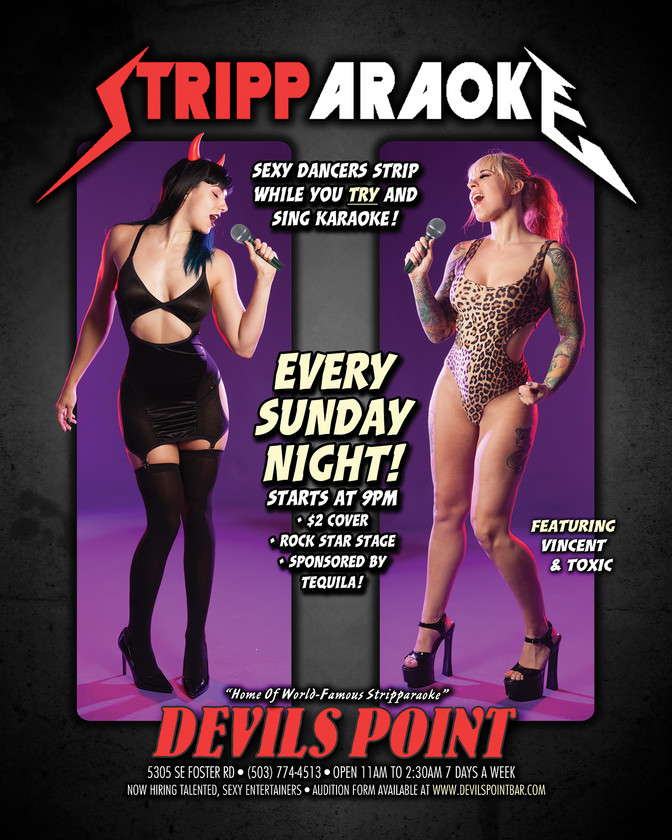 DEVILS POINT DANCER SCHEDULE • TUE, JAN 3RD - MON, JAN 9TH • 2017