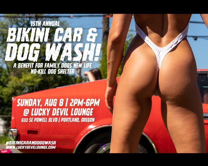15TH ANNUAL BIKINI CAR & DOG WASH BENEFIT!