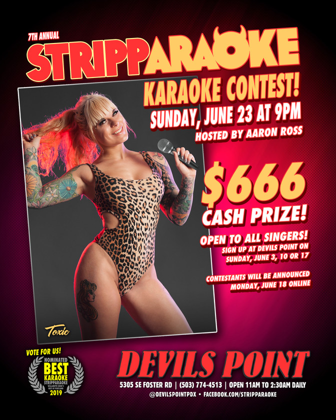 DEVILS POINT DANCER SCHEDULE • TUE, JUN 11TH - MON, JUN 17TH • 2019
